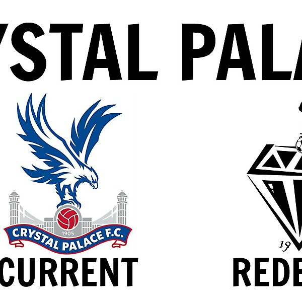 Crystal Palace FC New Logo Design