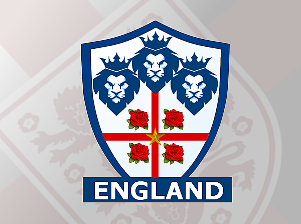 England National Team Crest