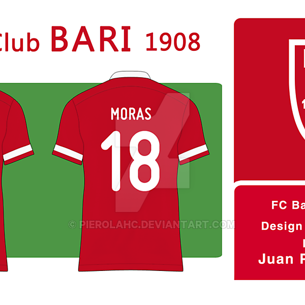 FC Bari 1908 - Badge (Away)
