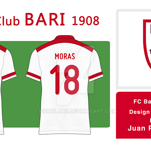 FC Bari 1908 - Badge (Home)