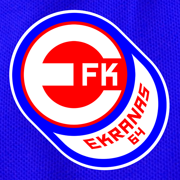 FK Ekranas Badge