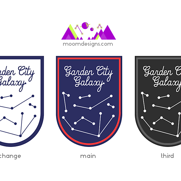 Garden City Galaxy FC Branding (Sketch 1) (for beefybeef's team)