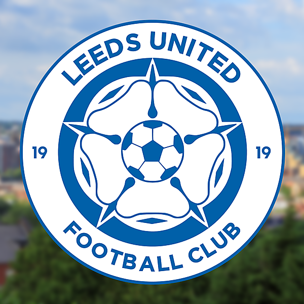 Leeds United crest based on modern English style