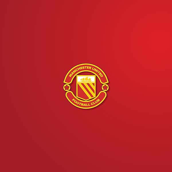 Man Utd 70' logo redesign