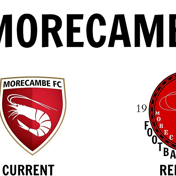 Morecambe FC New Logo Design