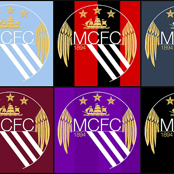 Reworked Man City crest - colours