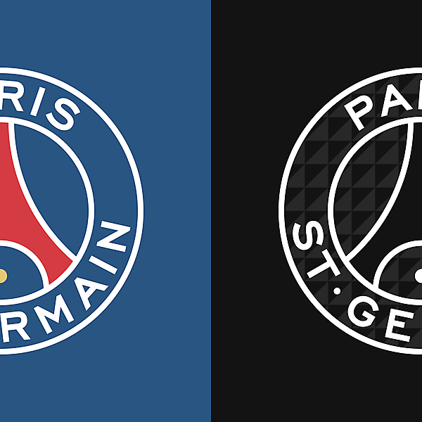 Paris Saint-Germain New Logo