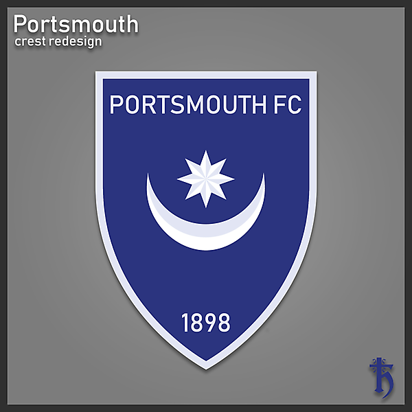 Portsmouth FC - Redesign