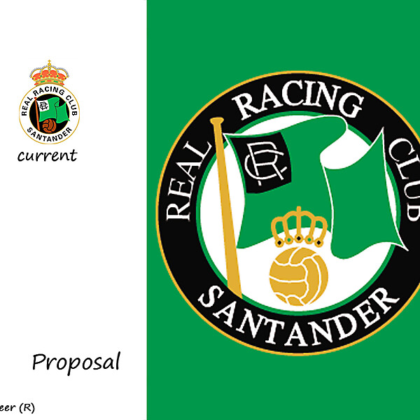RACING SANTANDER BADGE PROPOSAL