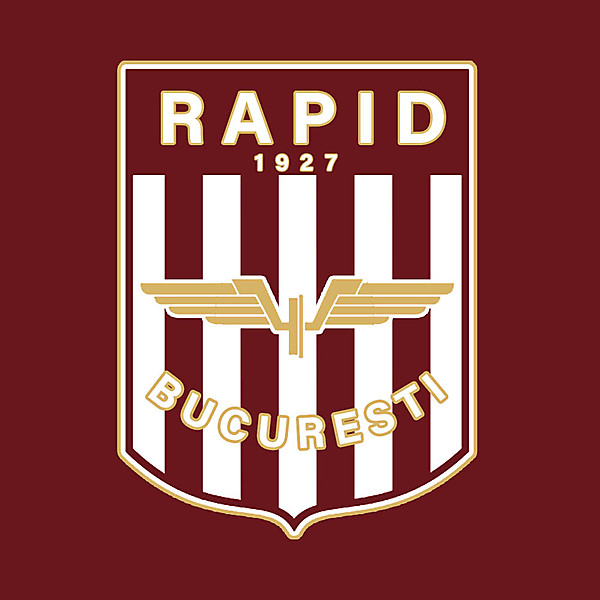 Rapid Bucuresti Crest Redesign