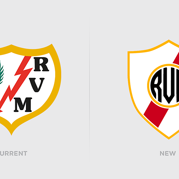 Rayo Vallecano Logo Redesign
