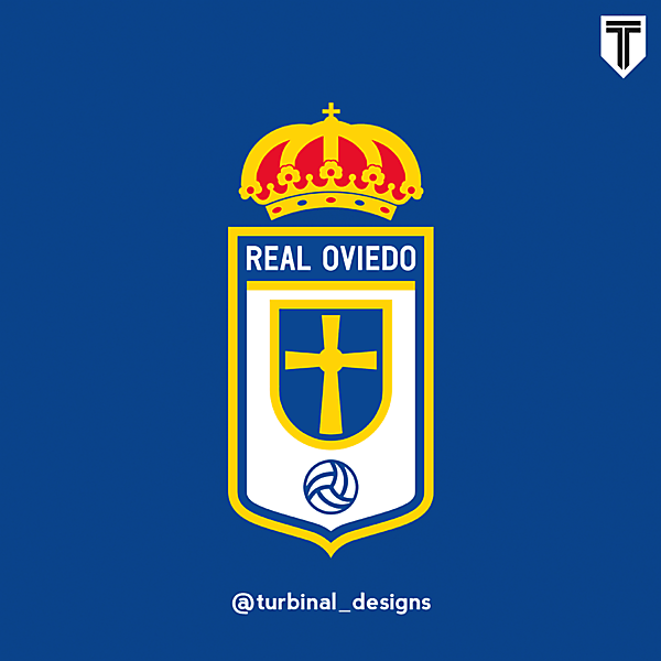 Real Oviedo Crest Redesign