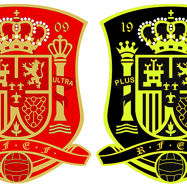 Spain World Cup Crests