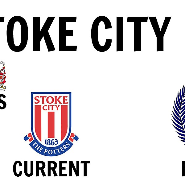 Stoke City FC New Crest Design