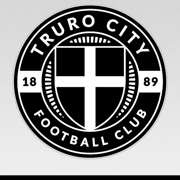 Truro City F. C. (Cornwall) - crest redesign proposal
