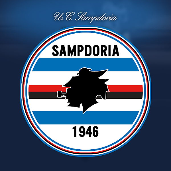 U.C. Sampdoria revisited crest