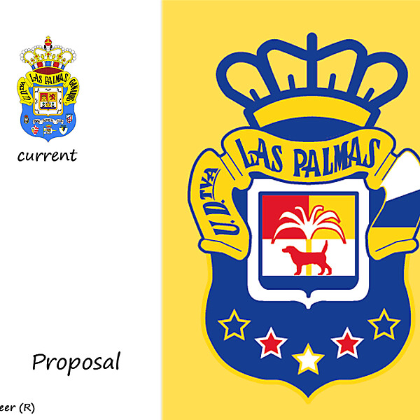 UD LAS PALMAS BADGE PROPOSAL