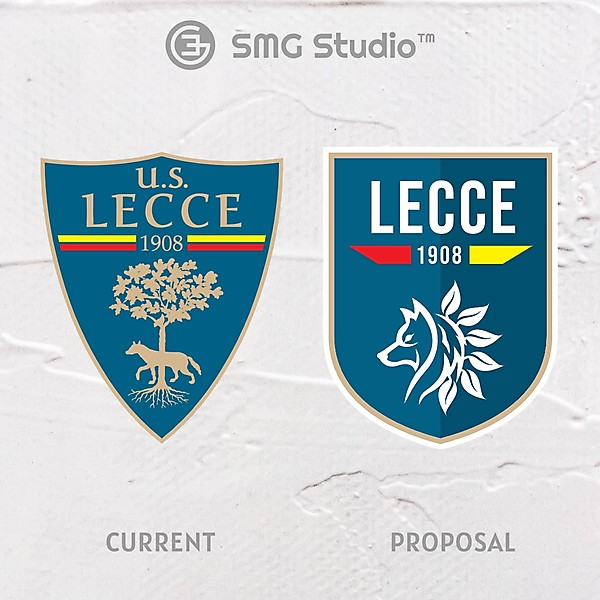 US Lecce - Crest Redesign
