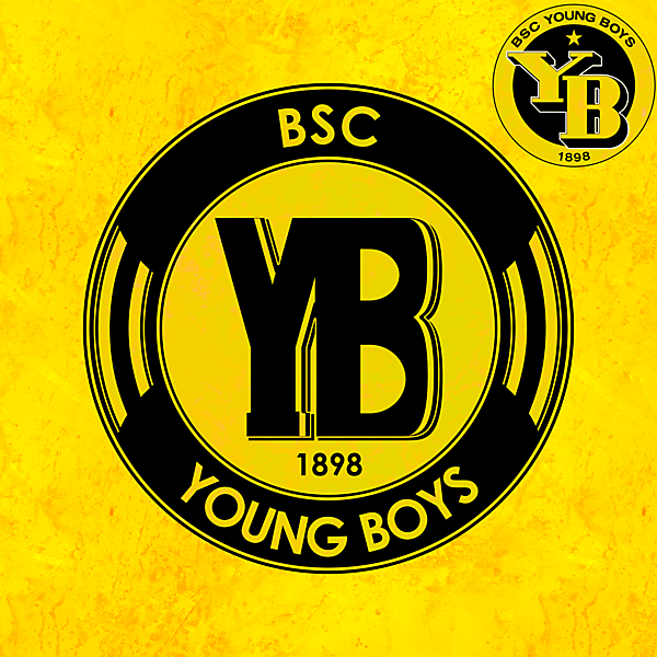 Young Boys logo redesign