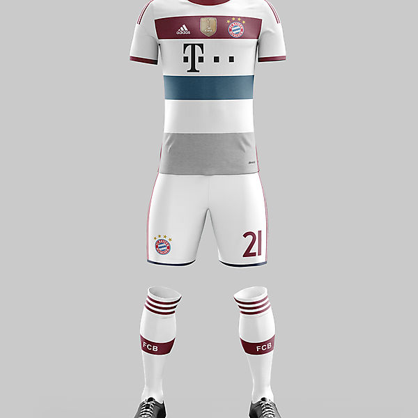 #11 - Bayern Munich Away '14