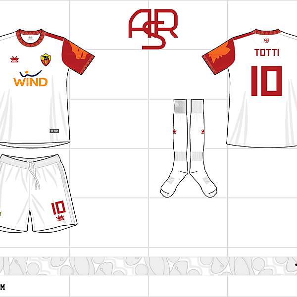 2012-13 as roma away kit