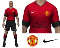 2014/15 Manchester United Home Kit