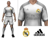 2014/15 Real Madrid Home Kit