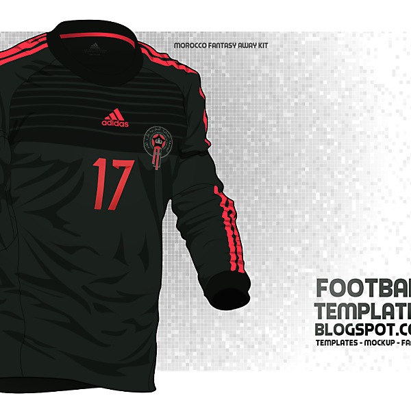 2014 Morocco Away Kit ~In Action~