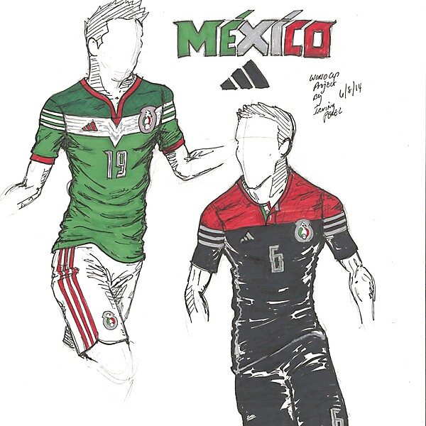 2014 World Cup Project by Irvingperceni - Group A - Mexico