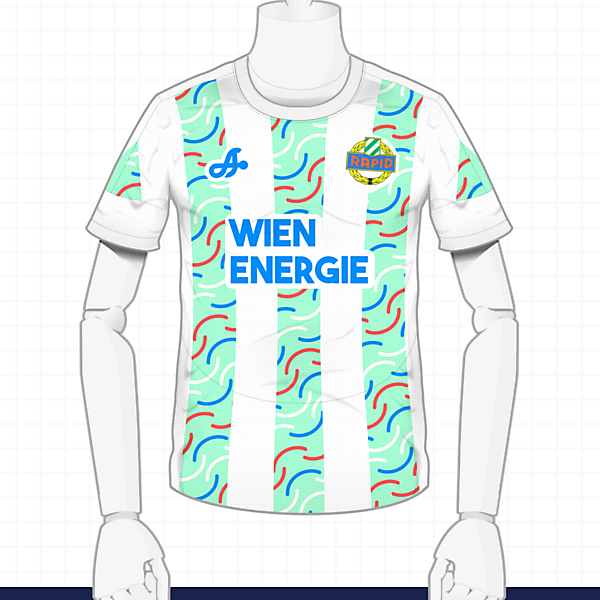 2016-17 Rapid Wien Away Kit by Astro