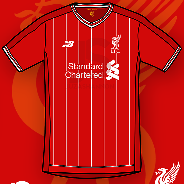 2016/17 Liverpool Home Shirt