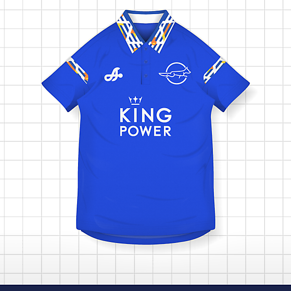 2017 Leicester City Home Kit ASTRO