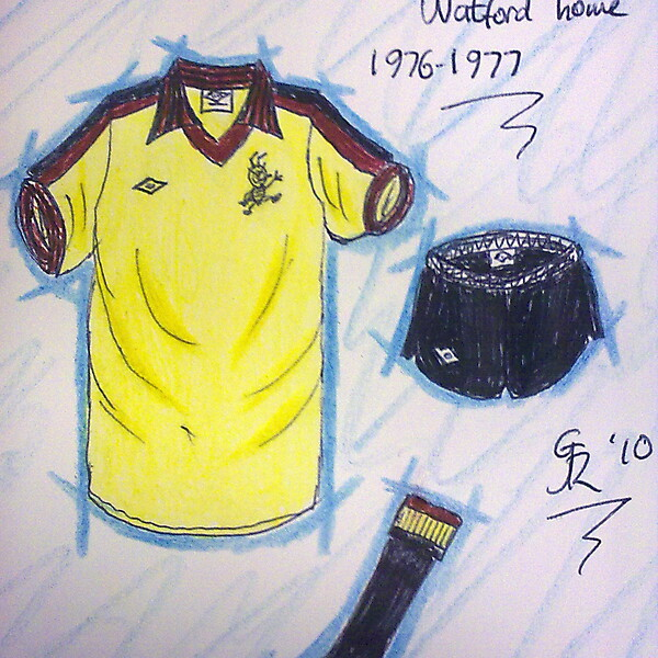 Watford home kits recent history