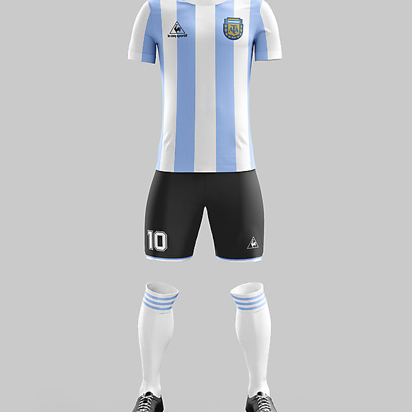 #9 - Argentina Home '86