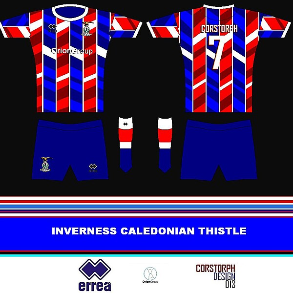 Inverness Caledonian Thistle Home Kit