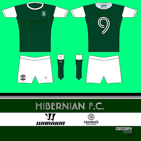 Hibs Home Kit