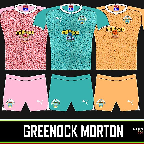 Greenock Morton Away Kit Idea