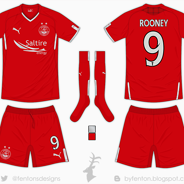 Aberdeen Home Kit - Puma [Azure League Matchday 5]
