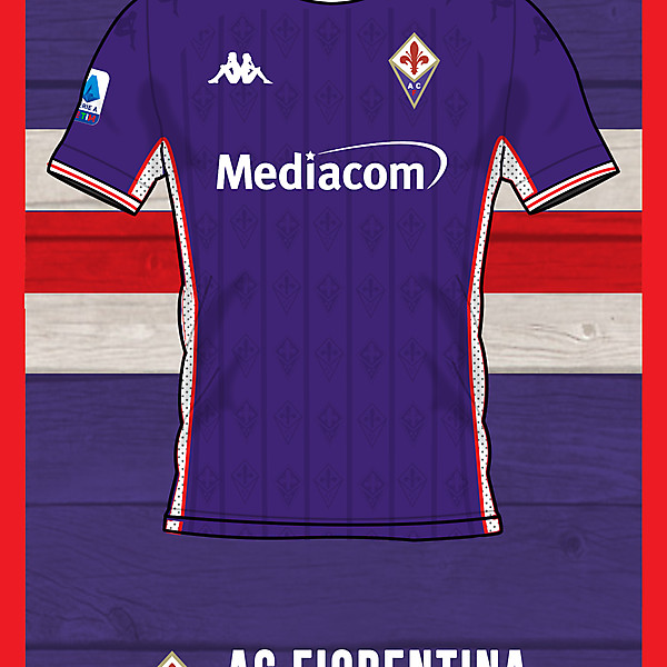 Ac Fiorentina Home shirt