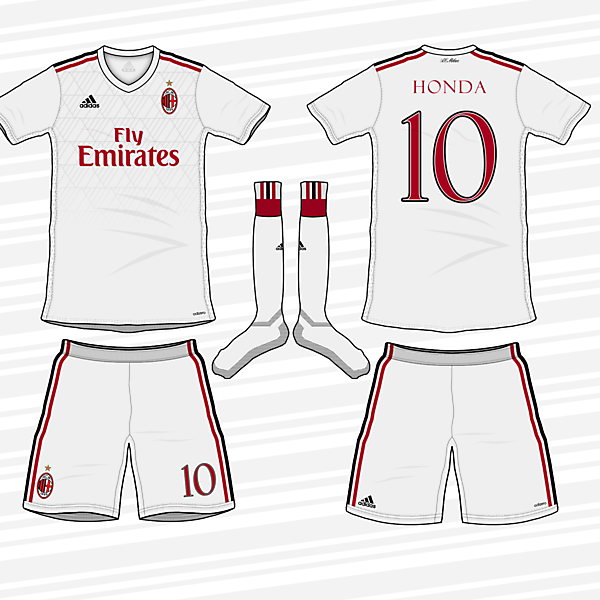 AC Milan 2017/18 Away Kit
