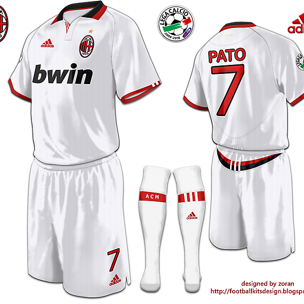A.C. Milan fantasy away modified version