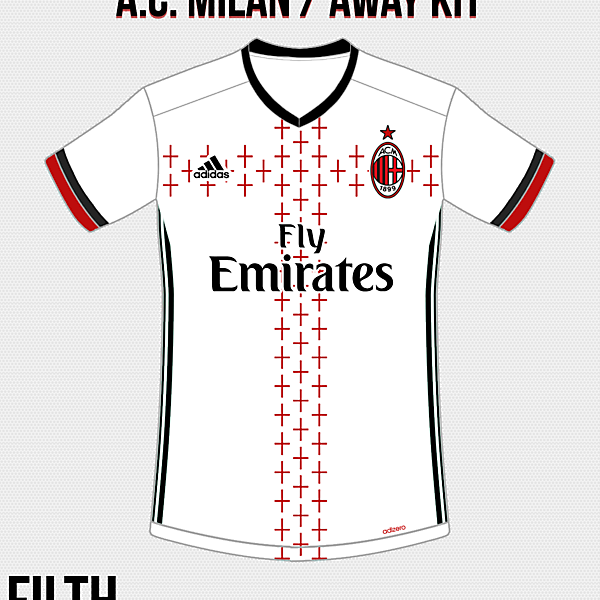 A.C. Milan Away Kit