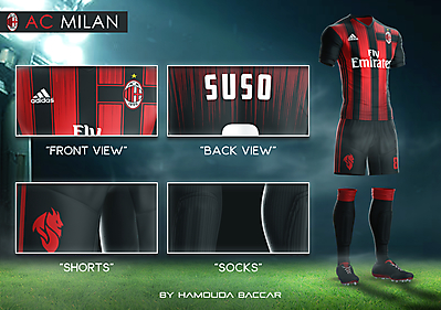 AC MILAN Football Concept Kit 2018/2019