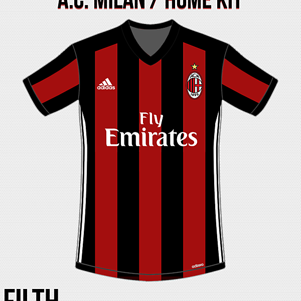 A.C. Milan Home Kit