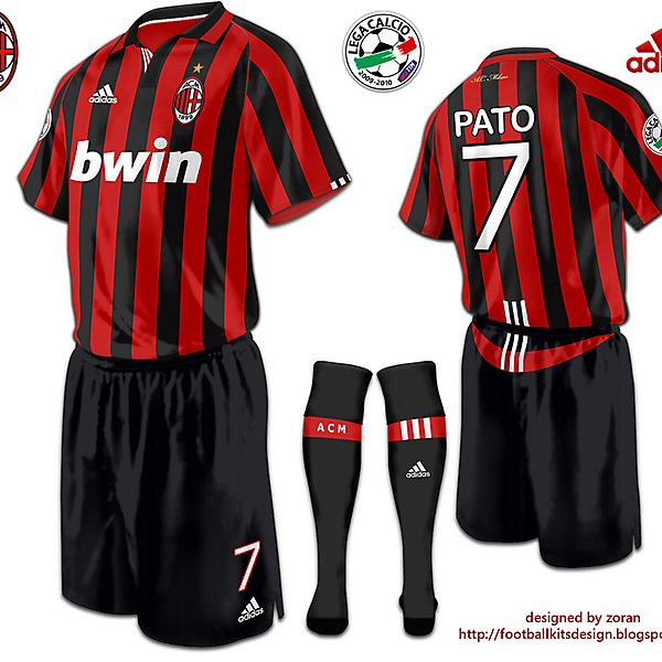 A.C. Milan fantasy home modified version