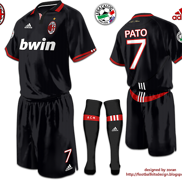 A.C. Milan fantasy third modified version