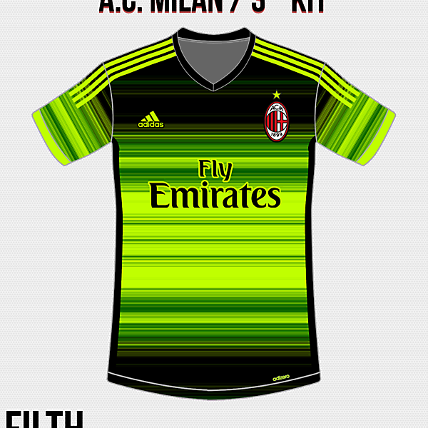A.C. Milan Third Kit