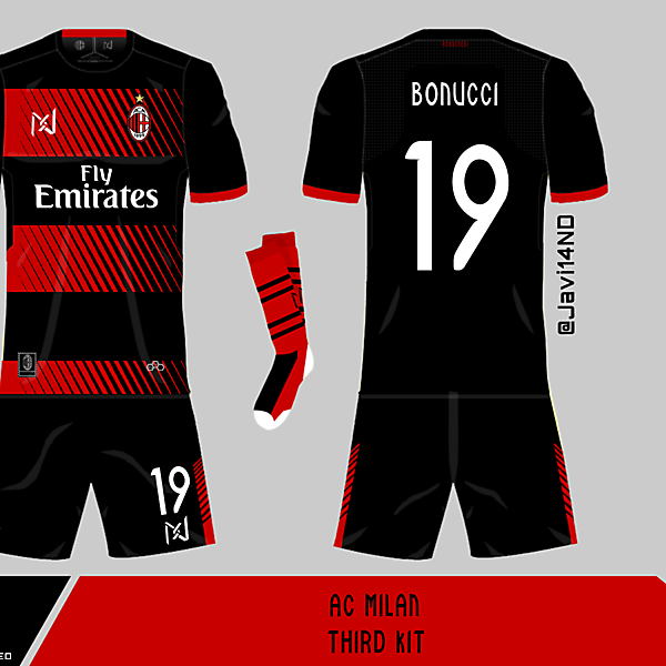 AC Milan third kit