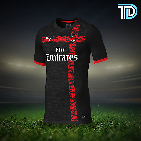 AC Milan Third Kit Concept