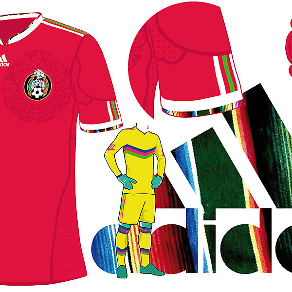 mexico away kit